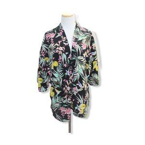 🎀 3/$30 Primark Floral Belted Cardigan
